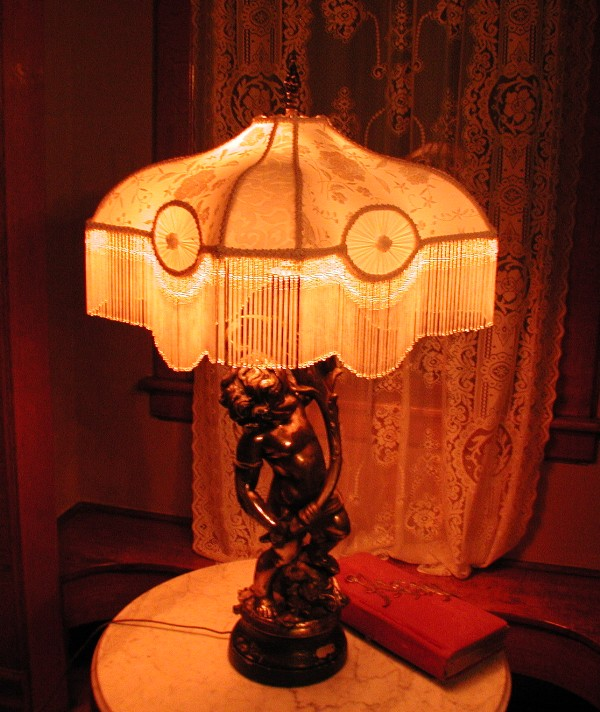 Victorian Lamp Shades on Victorian Lampshade   Beaded Lamp Shade
