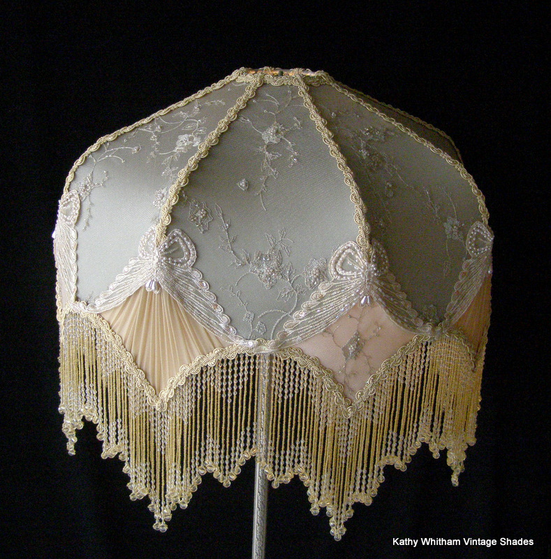 Old Fashioned Lamp Shade: Vintage Shades,Lighting