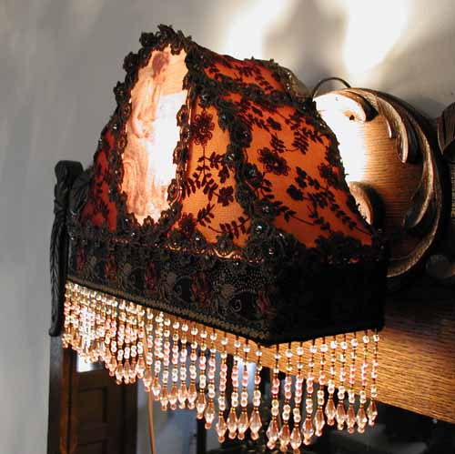 Vintage Bed Lamp Victorian Headboard Reading Light