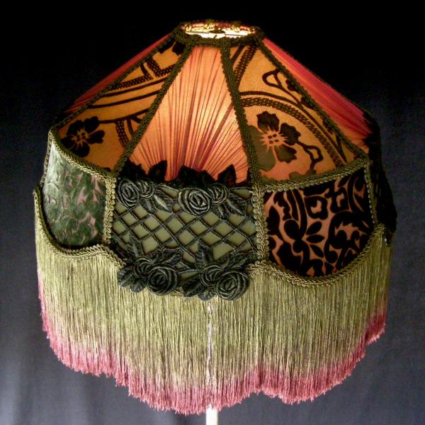 Victorian lampshades vintage custom lamp shades victorian lampshades vintage custom lamp shades aloadofball Gallery